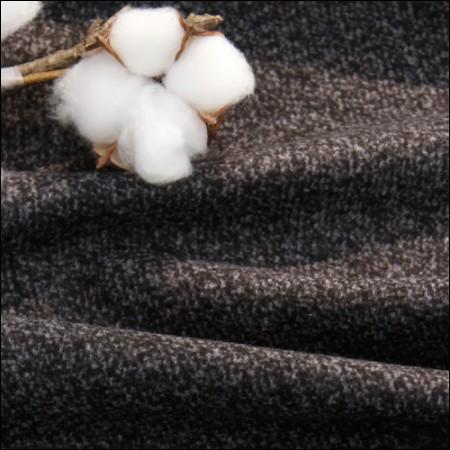 显著-羊毛混纺)深灰色检查