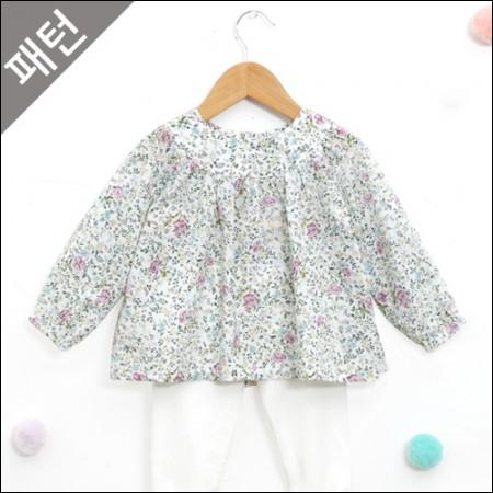 图案 - 道具)儿童女衬衫[P881]