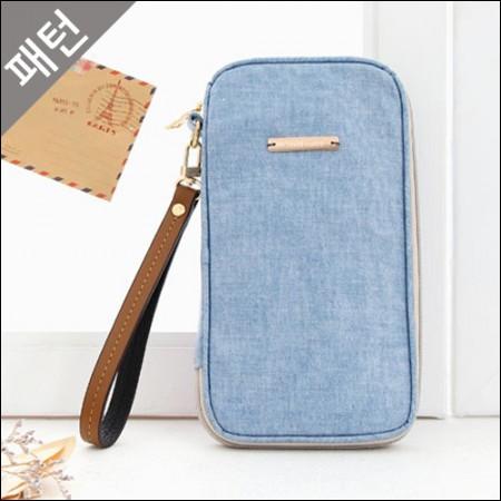图案 - 道具)护照袋[P1010]