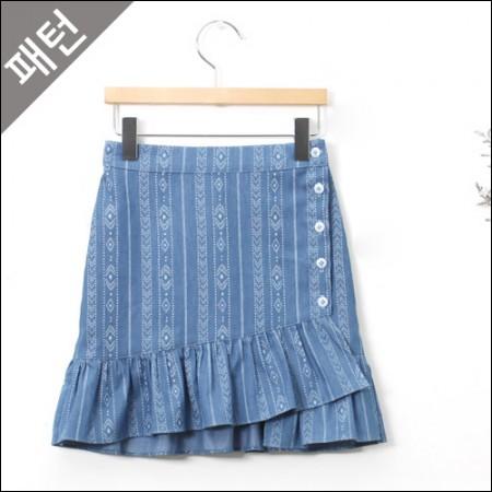 图案 - 儿童)儿童裙子[P901]