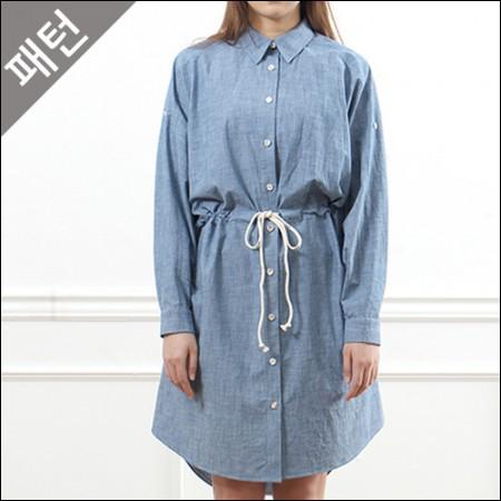 图案 - 女)女衬衫[P853]