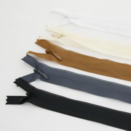 60厘米高级网状控制台拉链(5种) - 轻轻打开和关闭