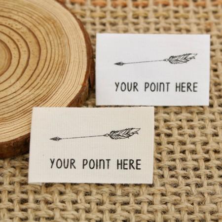 [2个]不干胶标签)飞箭(2种)