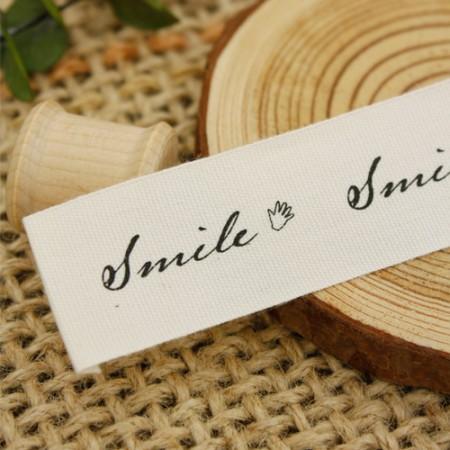 [2个]庄重的标签)微笑手问候