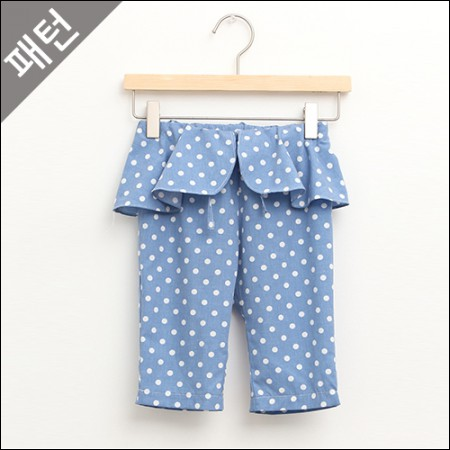 图案 - 儿童)童裤[P636]