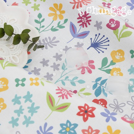 无毒,防水织物TPU层压织物)花式花卉