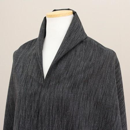 大麻亚麻羊毛混纺)黑线