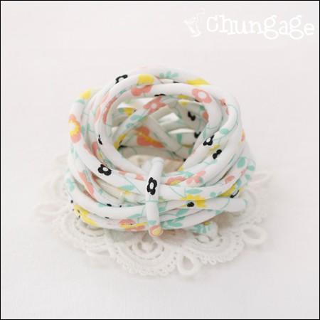 织物串字符串管道翻转柠檬树(3麻)