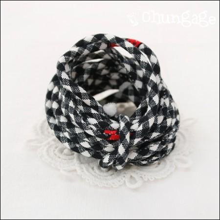 织物串字符串管道翻转方形心(3麻)