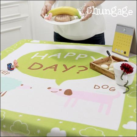 竹双纱布切割)噢快乐的一天[E0416]