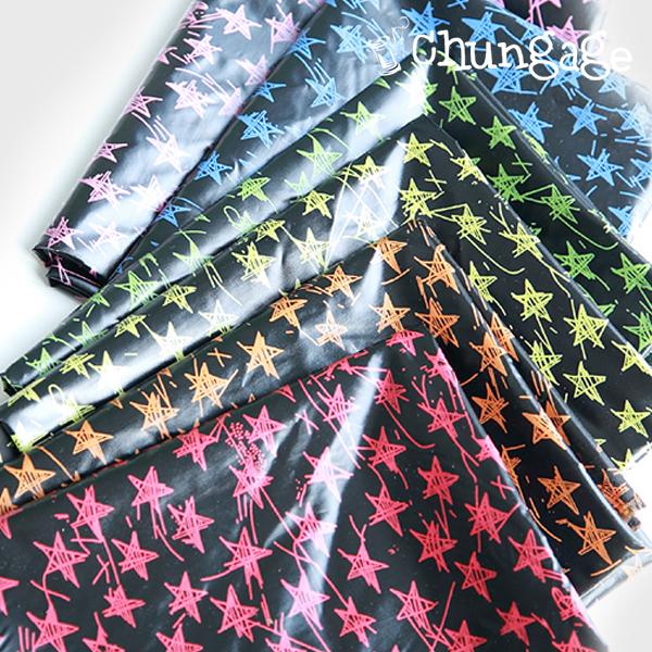 防水布)彩虹星(6种)