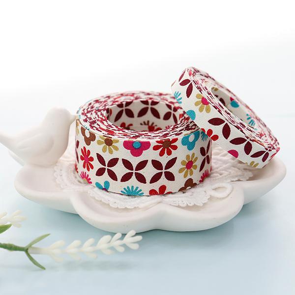 棉织物织带织带织带婴儿开花(3麻/ 2种)