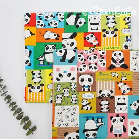 牛津)熊猫立方(2种)