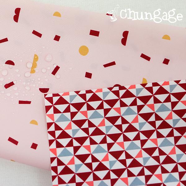 大号 - 聚酯纤维防水面料)块戏(2种)