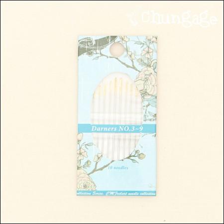 绣花针套装丹纳针(三维)3〜9套装