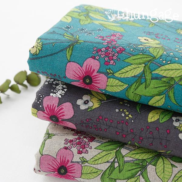 主要 - 亚麻)夏季野花(三种)