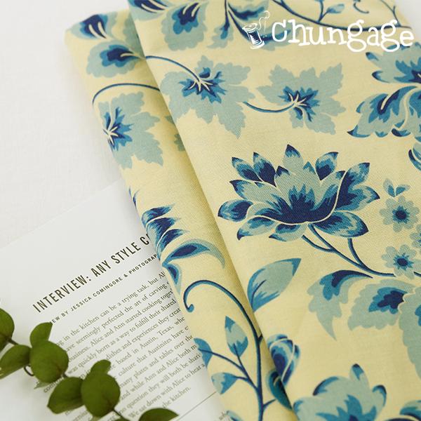 棉花20)蓝色的花园
