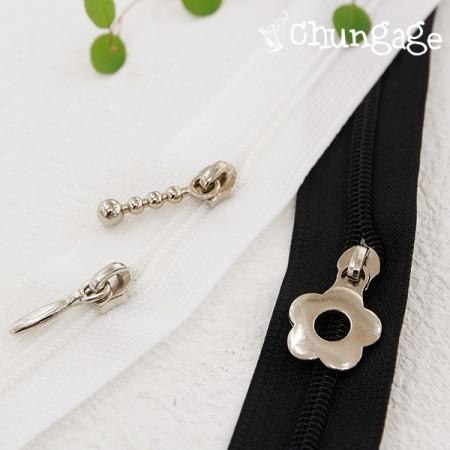 4号拉链头饰纱布(2件/ 3种)