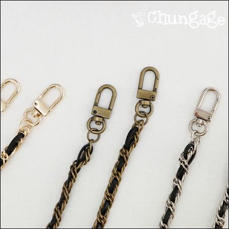 手袋配件面料链皮革十字链链条袋长128cm(3种)[B011]