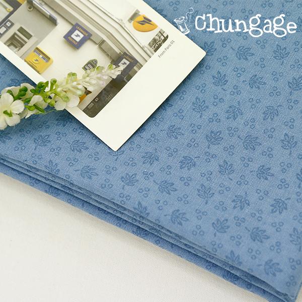 棉花20)蓝色花束
