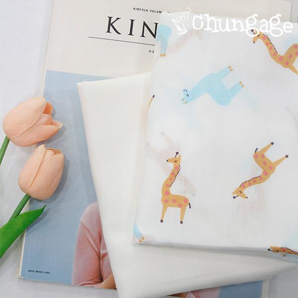手帕切纸)长颈鹿朋友(两种)