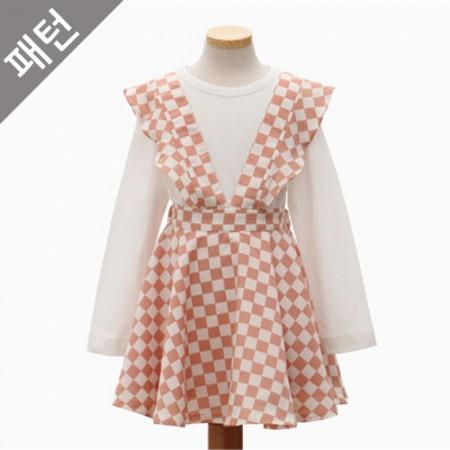 图案 - 儿童)儿童裙[P1052]