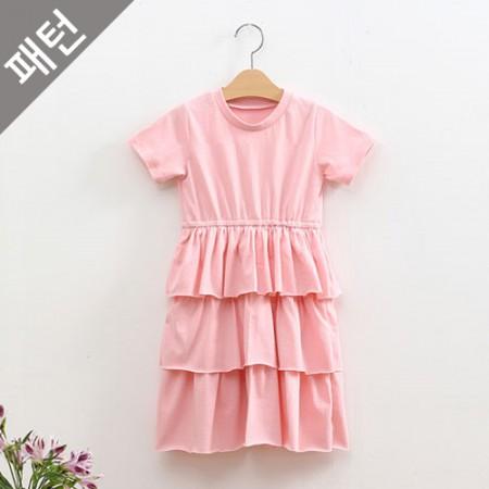 图案 - 儿童)儿童连衣裙[P1066]