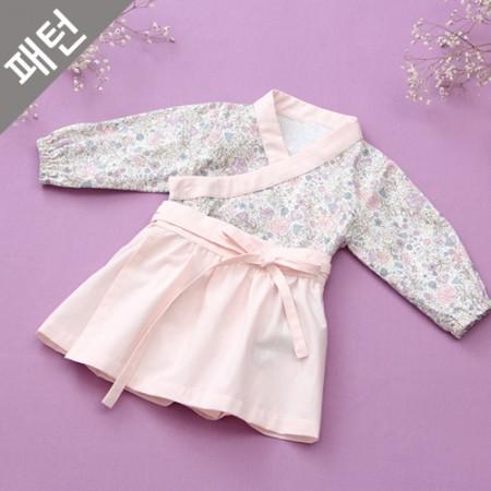 图案 - 儿童)婴儿身体套装[P1060]