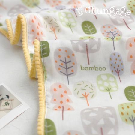 竹双层纱布)糖树(两种)