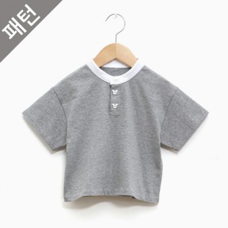图案 - 童童)儿童T恤衫[p1089]