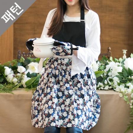 图案 - 工具)围裙和厨房手套[P1091]