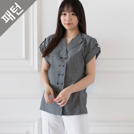 图案 - 女人)女人衬衫[P1083]
