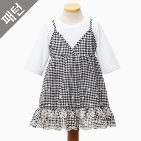 图案 - 儿童)儿童连衣裙[P1078]
