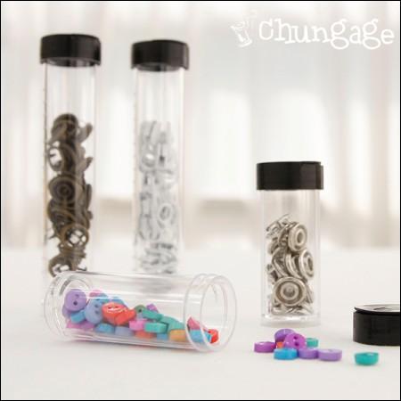 法式刺绣针筒收纳盒透明盒(2/2件)