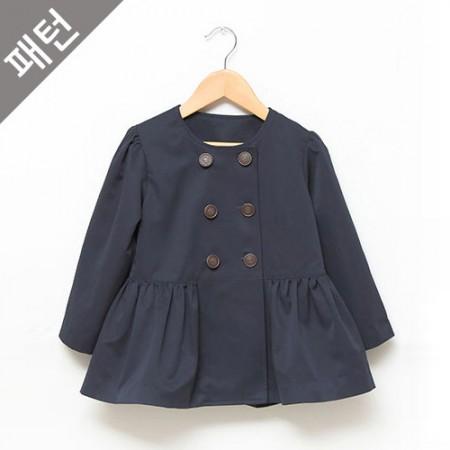 服装图案服装图案儿童大衣[P474]