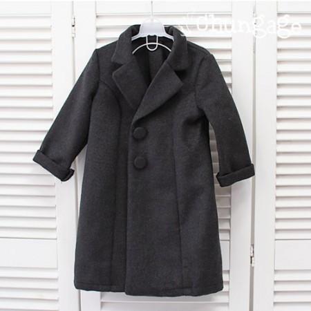 羊毛)羊绒加工羊毛织物质地光滑 - 深炭