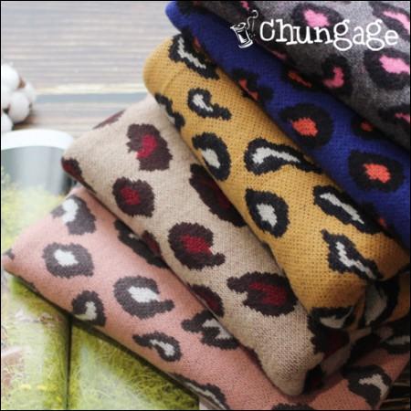 大软拉绒针织)豹纹霍皮(5种)