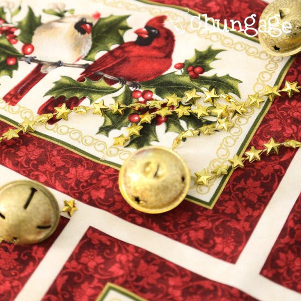 切地)X-MAS圣诞花蕾(红酒)