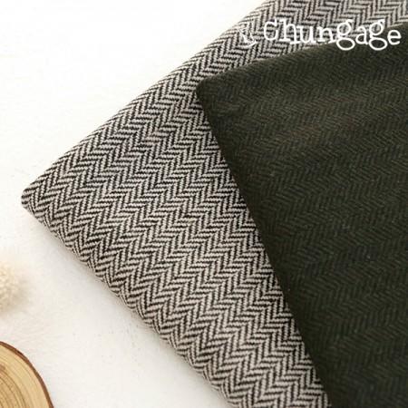 大毛混纺面料)现代人字纹(2种)