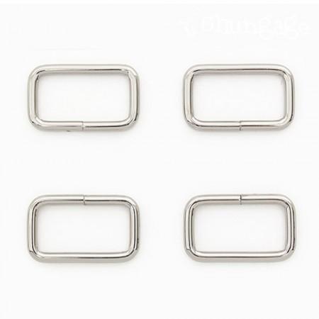 袋连接方环基本ㅁ环方环银30mm