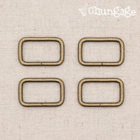袋连接扣ㅁ环方圈古董(三种)