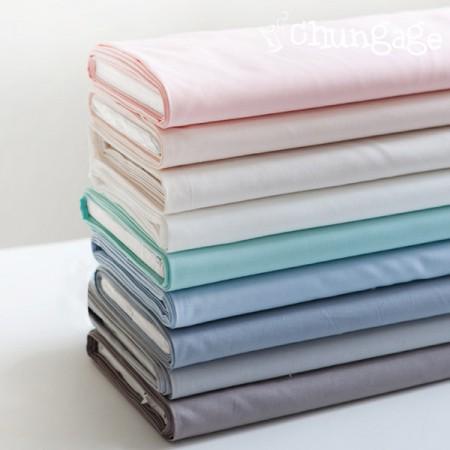 有机棉20水有机棉)素色(9种)