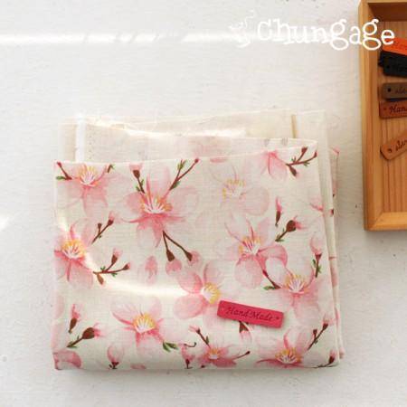 非常 - 最好的DTP11可以亚麻)浪漫的樱花