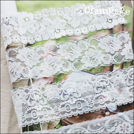 Span Rasselace)白花(4种)