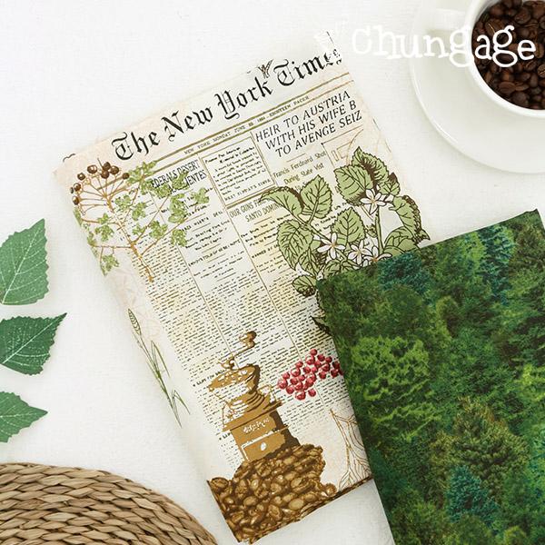 20织物纺织品)咖啡树林(2种)