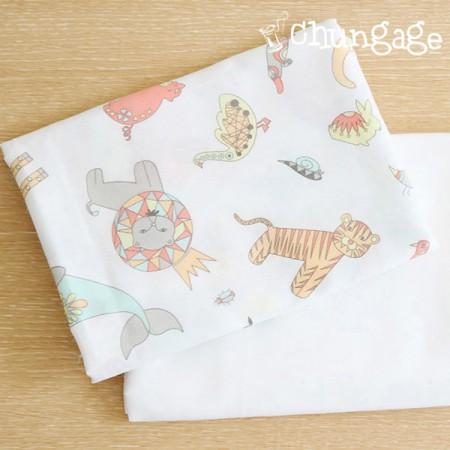 手帕切纸)奇怪的动物王国(两种)
