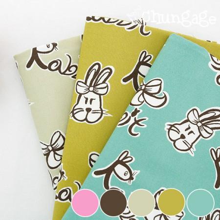 20号牛津)丝带兔(五种)