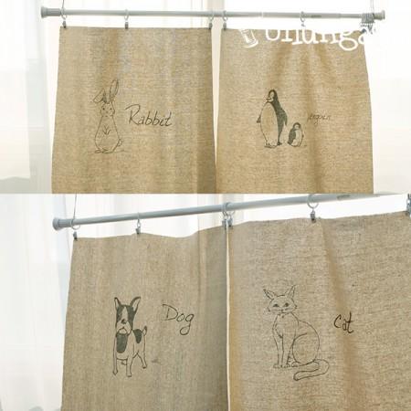 亚麻切纸)动物系列(四种)