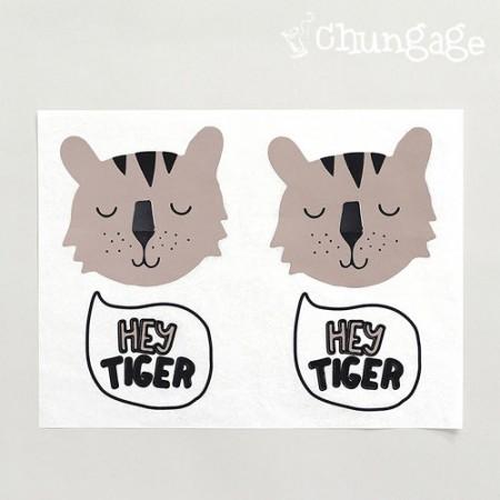 纸转印纸Hi Tiger咖啡色[TP019]