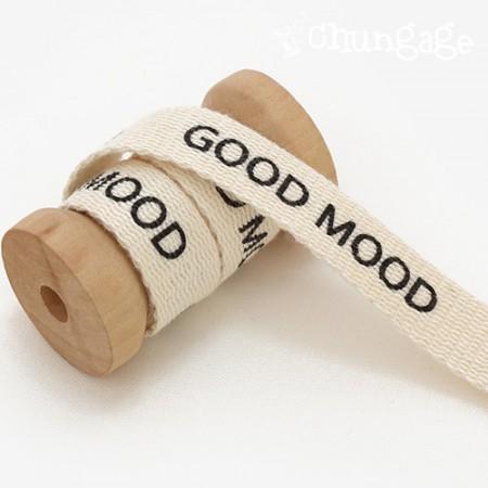 装饰带Goodmord刻字带15mm自然